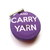 Retractable Pocket Tape Measure Keep Calm Carry Yarn Measuring Tape