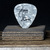 Commemorative guitar pick and display ensemble: Gregg Allman