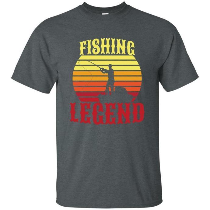 Fishing Legend Men T-shirt, Fishing T-shirt, Fishing Legend Tee, Legend Men Tee,