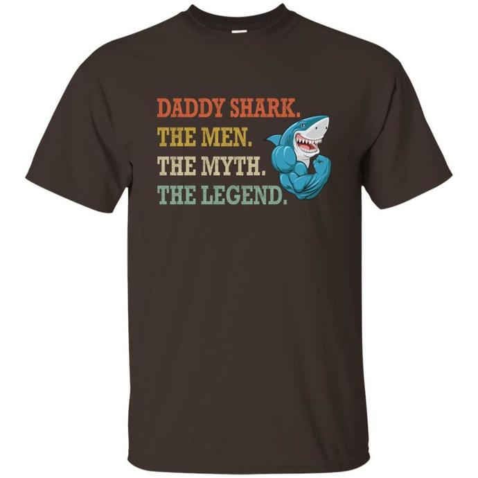 Daddy Shark, The men, The Myth, The Legend Men T-shirt, Daddy Shark T-shirt, The