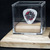 Commemorative guitar pick and display case: George Jones