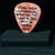 Commemorative guitar pick and display case: Kings X