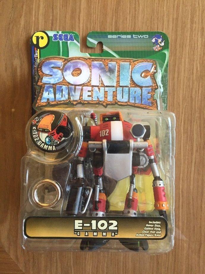 Sonic adventure resaurus E-102 Gamma figure hedgehog toys series 2 vintage new