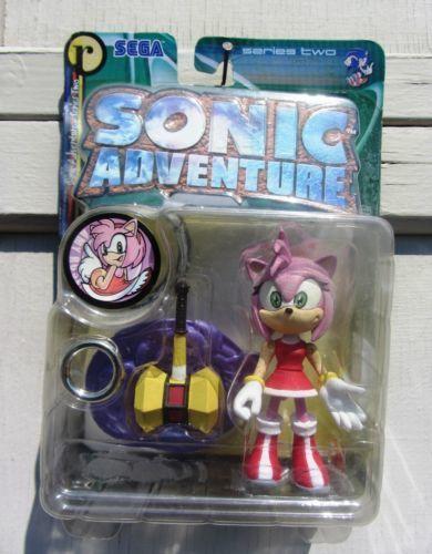 Sonic adventure resaurus Amy Rose figure hedgehog toys series 2 vintage new