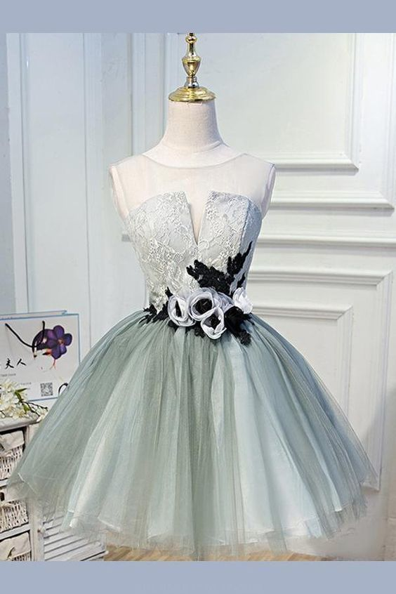 Beautiful Prom Dresses Short, Lace Prom Dresses, Prom Dresses, Beautiful Prom