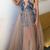 Berta Evening Dresses Deep V Neck Lace Appliques Beaded Illusion Sexy Prom Dress