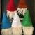 Handmade Felted Bottle Covers Christmas  Winter Gnome