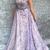 Beautiful Prom Dresses Spaghetti Straps A line Lace Prom Dress Sexy Evening