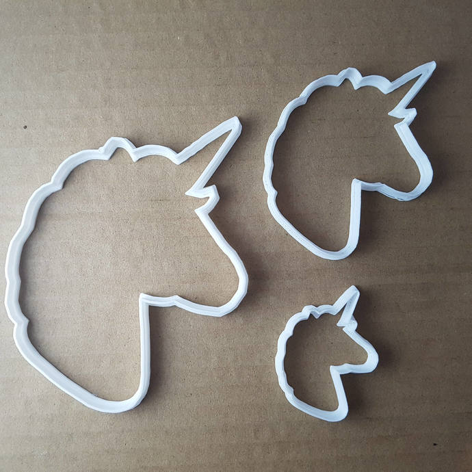 Unicorn Horse Mythical Shape Cookie Cutter Animal Biscuit Pastry Fondant