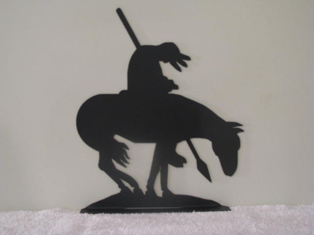 Mailbox Topper End Of The Trail Metal By Cabinhollow On Zibbet