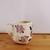 Handmade Ceramic Mug with Purple and Pink Roses