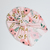 Custom Order for Jodi - Watercolor Poppy Top Knot Turban - 0-3 Months