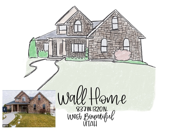 Custom Home/Building Digital Sketch