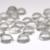 8mm Round Clear Quartz Cabochon - 1 piece