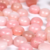 10 mm Pink Opal Round Cabochon - 2 pieces