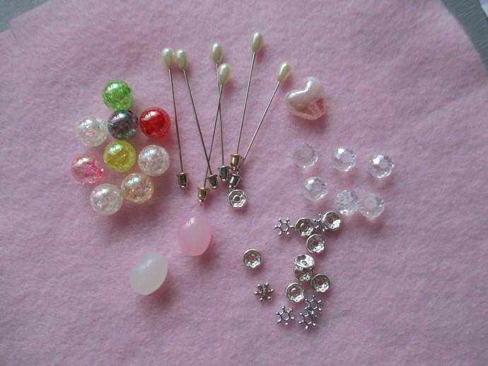 Gorgeous Stickpin Kit - 6 pins