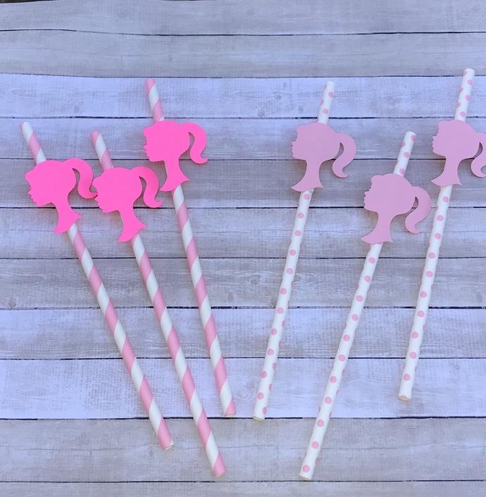 Barbie Straws