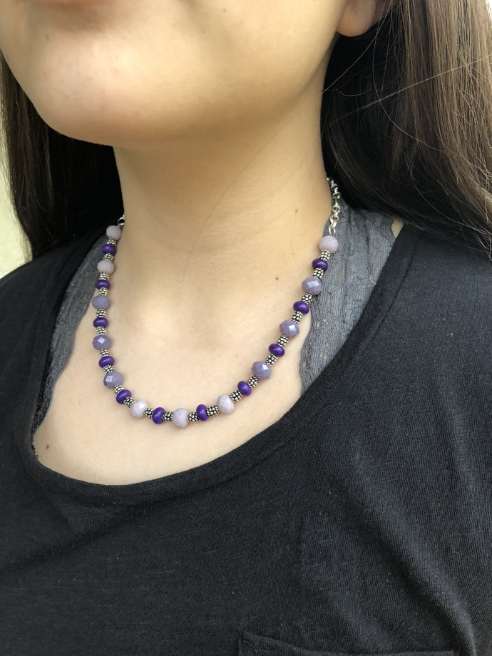 Purple Haze Necklace