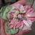 Large Vintage Style Handmade Ribbon Flower