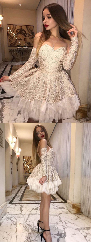 Lace Short Prom Dresses,Short Homecoming Dresses