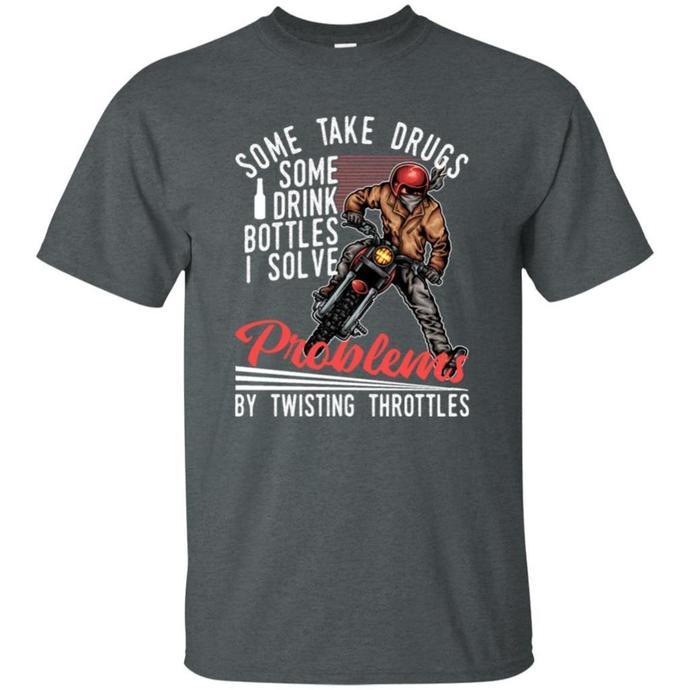 Some Take Drugs, Some Drink Bottles Men T-shirt, Some Take Drugs Tee, Some Drink