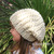 Women Black Slouchy Hat Concho Knitted Winter Hat Handmade Ladies Knit Beret Tan