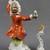 Vintage Porcelain Monkey Orchestra Conductor Figurine Figure Meissen style