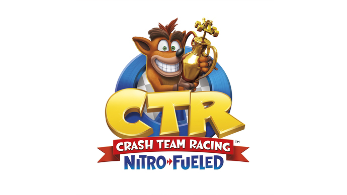 """Crash Team Racing Nitro Fueled Polyester Fabric Poster (13""""x19"""" or 18""""x28"""")"""