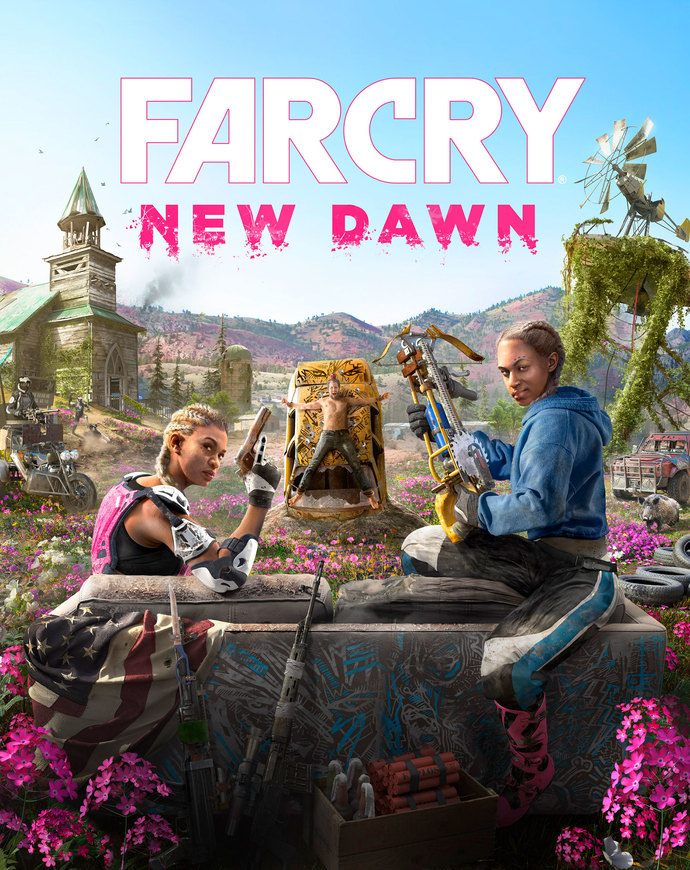 "Far Cry New Dawn Polyester Fabric Poster (13""x19"" or 18""x28"")"