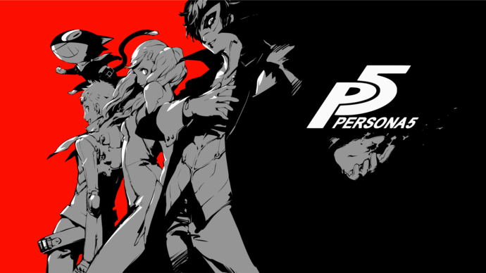 """Persona 5 Polyester Fabric Poster (13""""x19"""" or 18""""x28"""")"""