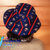 Travel Sun Hat- lays flat in a suitcase or tote in fun red white blue teddy bear