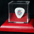 Commemorative guitar pick in a display case: Bon Jovi