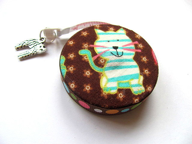 Tape Measure Crazy Cats Small Retractable Tape Measure
