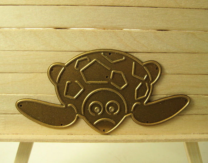 Sea Turtle Metal Cutting Die
