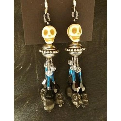 Office Goth Earrings