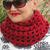 Crochet Pattern 110 Crochet Scarf Pattern Infinity Net Scarf Wrap Neck Warmer