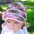 Crochet Pattern 146 Crochet Hat Pattern Era Visor Hat Visor Beanie Hat Toddler