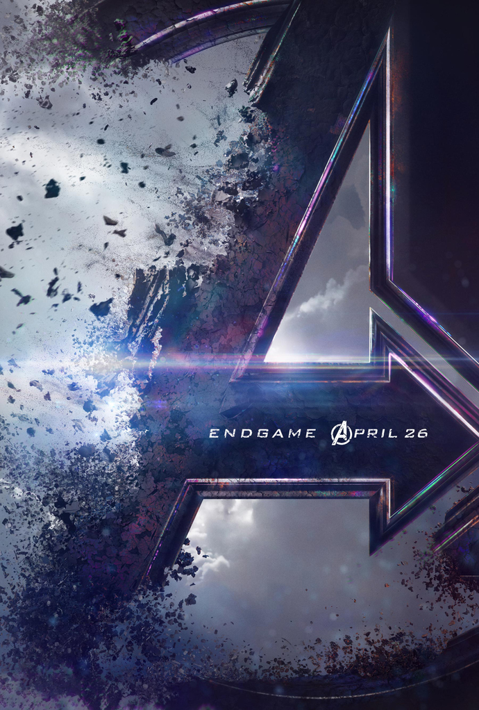 """Avengers 4 Endgame Polyester Fabric Poster (13""""x19"""" or 18""""x28"""")"""
