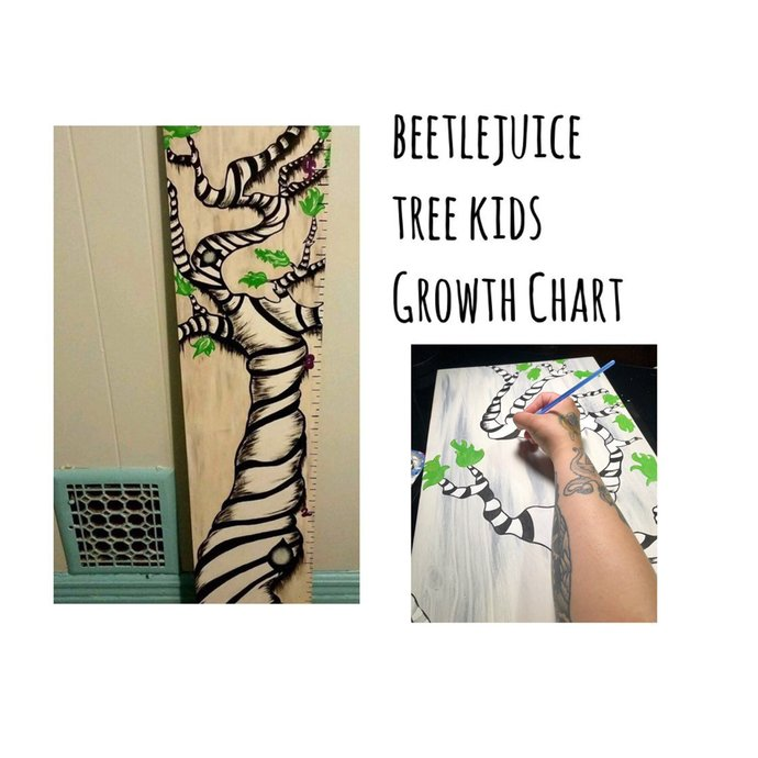 Whimsical Tree Growth Chart | Giant Ruler | Free Shipping