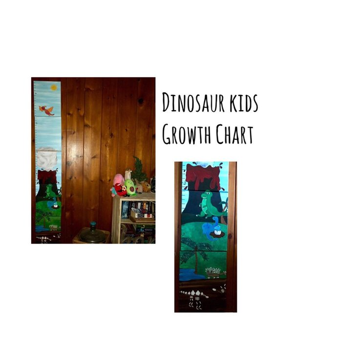 Dinosaur Growth Chart | Free Shipping
