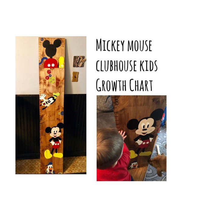Mickey Mouse Clubhouse Growth Chart | Free Shipping
