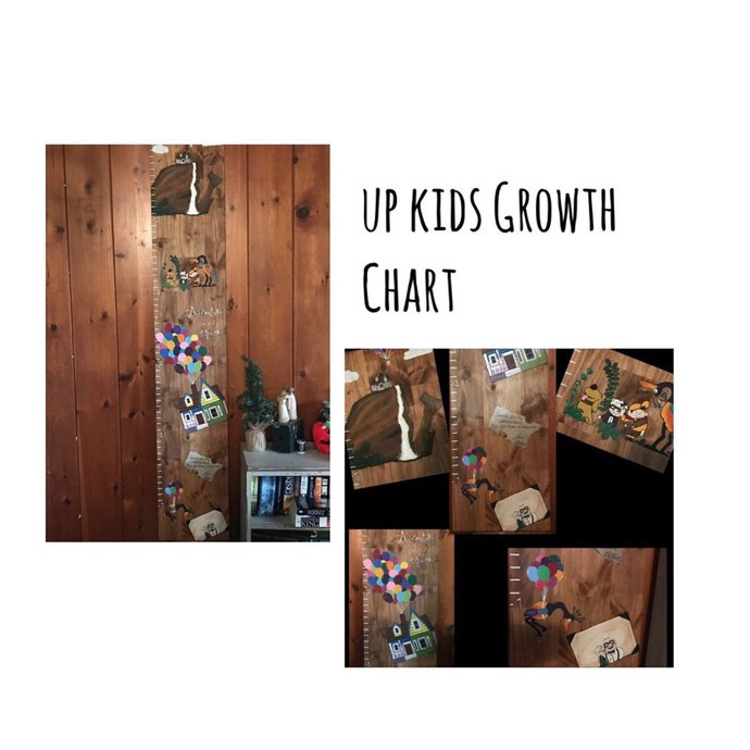Up True Love Growth Chart Baby Shower Gift By Eertflair On Zibbet