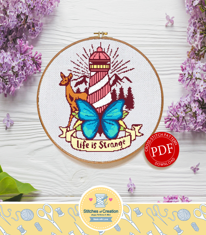 Life is Strange | Digital Download | Cross Stitch Pattern  |