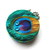 Tape Measure Peacock Feathers Small Retractable Measuring Tape