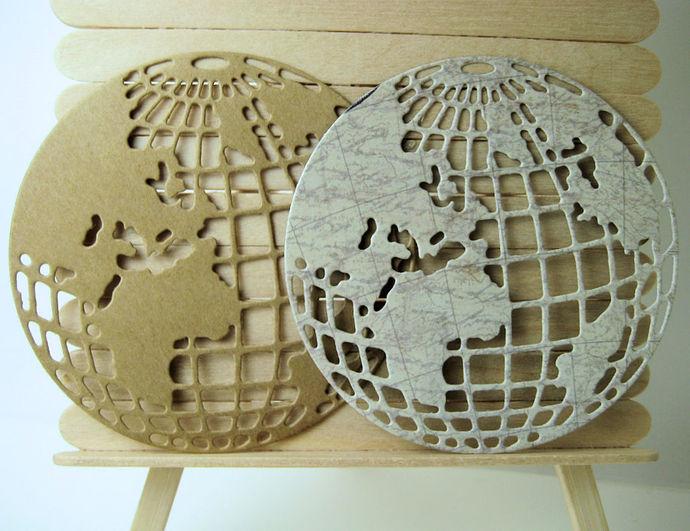 World Globe Earth Cutting Die