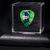 Commemorative guitar pick and display case: Ed Sheeran