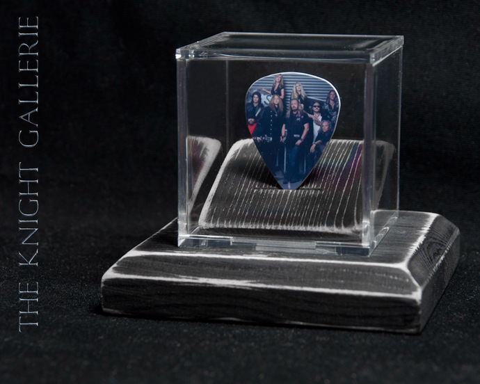 Commemorative guitar pick and display case: Lynyrd Skynyrd