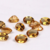 8 x 6mm Oval Faceted Citrine - 1 piece