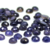 6mm Round Iolite Rose Cut Cabochon - 1 piece