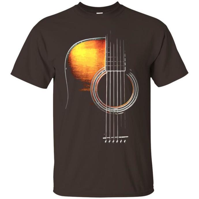 GUITAR ART, Music Relax Favorite Best Friend Guitar Men T-shirt, Music Relax